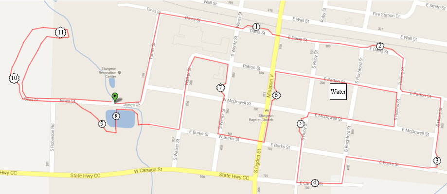 5k Route